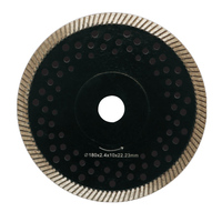 DIAMOND SAW BLADE WITH REINFORCED RING