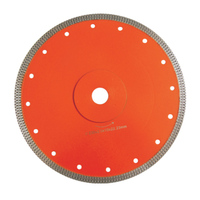 MESH TURBO RIM BLADES WITH REINFORCED RING