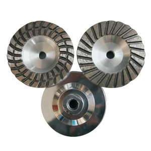 DIAMOND GRINDING WHEEL TURBO TYPE-ALUMINIUM BASE